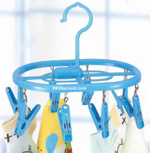Plastic Oval Clothespins Drying Rack