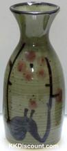 Green Sake Bottle