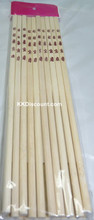 Bamboo 9.5 inches Chopsticks 10 Pairs Pack