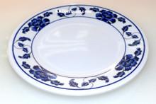 Lotus Design Melamine 15 Inch Round Plate