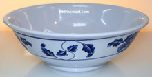 Lotus Design Melamine 52 oz Rimless Bowl