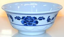 Lotus Design Melamine 34 oz Scalloped Bowl