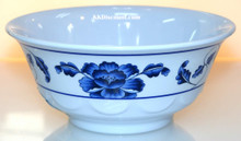 Lotus Design Melamine 53 oz Scalloped Bowl