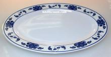 Lotus Design Melamine 12 Inch Platter