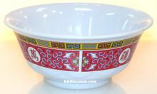 Longevity Melamine Plastic 34oz Scalloped Bowl
