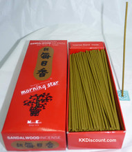 Morning Star Sandalwood Incense box