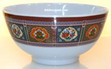 Nature Melamine Plastic 9oz Rice Bowl