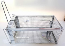 Large Rat Trap Cage Closed
