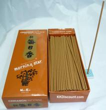 Morning Star Cinnamon Incense box