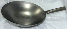 14 Inch Hong Kong Style One Handle Wok