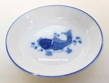 Modern Blue Koi Fish 3 Inch Sauce Dish