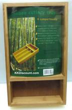 Small Bamboo Cutlery Tray