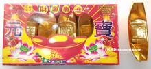 Chinese Gold Ingot Sycee Joss Pack