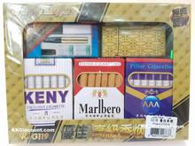 Cigarette Packs and E-Cigarette Vaping Joss Paper Set