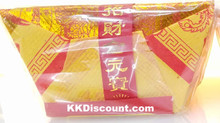 Folded Gold Fortune Ingot Nuggets Joss Paper Pack