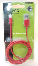 PCC Iphone Ipad Mini Ipod 4FT Lightning USB Cable