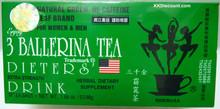 3 Ballerina Diet Tea Dieters Drink