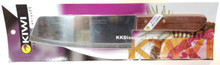 Kiwi Chef Carbon Steel Cooking Knife with Wood Handle