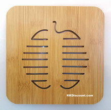 Apple Bamboo Placemat Trivet