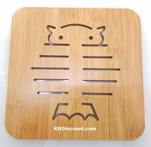 Owl Bamboo Placemat Trivet