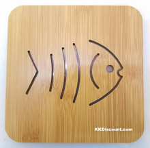 Small Fish Bamboo Placemat Trivet