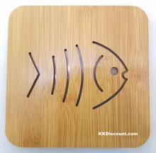 Small Fish Bamboo Placemat Trivet