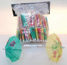 Parasol Umbrella Party Drink Picks Pack