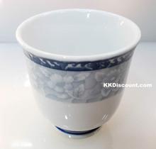 Floral Design Tea Cup