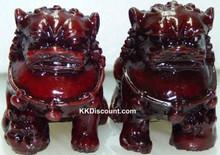 Small Guardian Lions Foo Dogs Figure