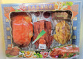 Deluxe Chicken Duck Roast Pig Meat Platter Joss Set