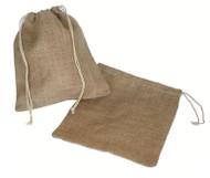 10 x 12 Natural Jute Bags - 10 pcs