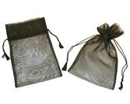 5 x 7 Organza Bag w/ Fine Tassel Hair - 12 pcs