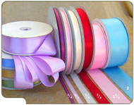 3/8 inch Single Sided Satin Ribbon - 100 yds