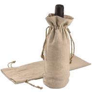 6 x 14 Linen Wine Bag - 1 pc