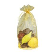 7.5 x 11 x 5 Sinamay Bag