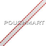 3/8 inch Dash Grosgrain Ribbon - 25 yds