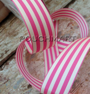 1.5 inch striped ribbon