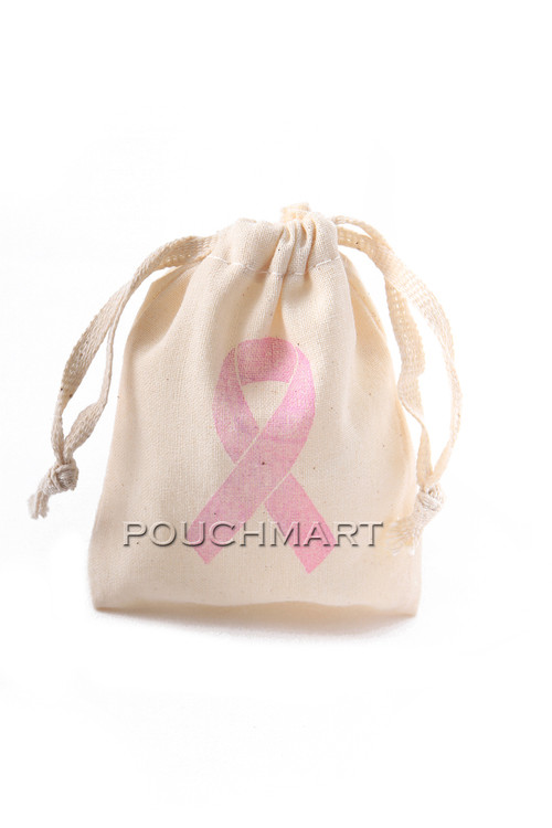 Awareness Ribbon Print Canvas Bag