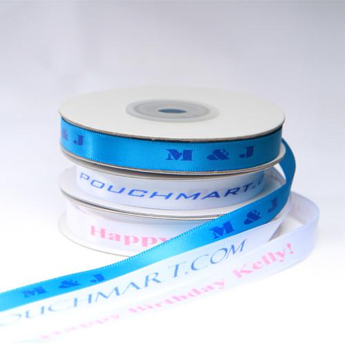 3/8 Inch Personalized Satin Ribbon