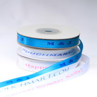 Personalized satin ribbon