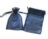 5.5 x 9 Plain Organza Bags - 6 pcs