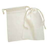 5.75 x 9.5 Canvas (Cotton) Bag - 12 pcs