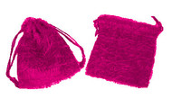 5 x 6 Fuzzy Bag with Cord - 1 pc
