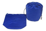 8 x 7.5 Round Bottom Velour Bag - 1 pc