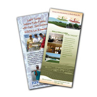"""RC385   3.5"""" x 8.5"""" Full Color Rack Cards"""