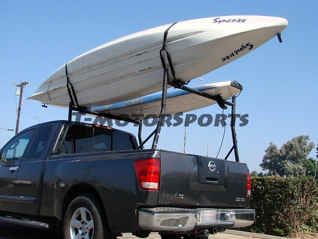 J Bar Rack HD Kayak Carrier Boat Surf Ski Roof Top Mount Car SUV Crossbar 2 Pair