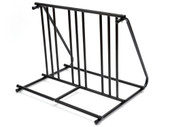 HD STEEL 1-6 BIKES FLOOR MOUNT BICYCLE PARK STORAGE PARKING RACK STAND 2 3 4 5