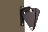 Dark Coffee  Barn Wood Door Sliding Door Hardware Lock