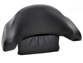 Black Motorcycle Trunk Tail Box Luggage Passenger Wrap Around Touring Backrest