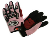 Youth Kid Motocross dirt bike ATV Off-Road Gloves Pink